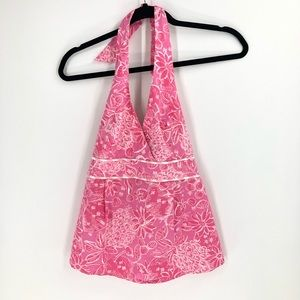Lilly Pulitzer Halter Top Pink Size 0